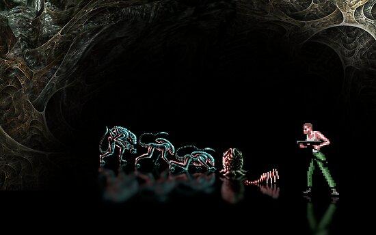 Alien 3 pixel art by smurfted