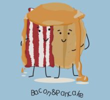 Pancake and Bacon = best friends by Elinor Barnes
