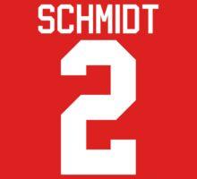 Kendall Schmidt jersey - white text by sstilinski