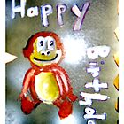 Happy Monkey birthday  by linwatchorn