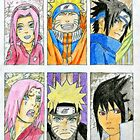 Naruto Sasuke Sakura Team 7 Artwork Edit by Jonesy235
