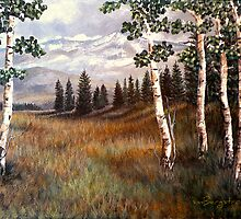 """Rocky Mountain Meadow"" by Susan Bergstrom"