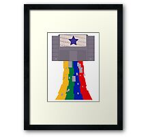 SUPER  POWER Framed Print
