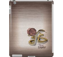 Year of the Snake (for dark shirts) iPad Case/Skin