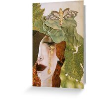 String Bean Love Greeting Card