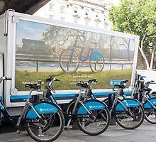 bicycle rental by Anne Scantlebury
