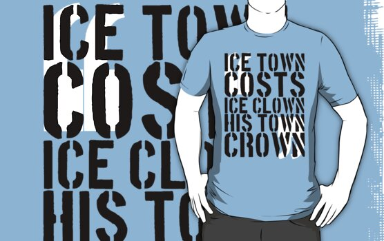 Parks and Rec | Ice Town Costs Ice Clown His Town Crown by msdaae