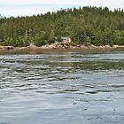Deer Island ferry view by PrestoConn