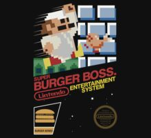 Burger Boss - NES by innercoma