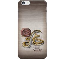 Year of the Snake - Dark Background iPhone Case/Skin