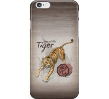 Chinese Zodiac - The Tiger iPhone Case/Skin