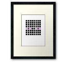 PIXEL8 | It's The End Man Framed Print