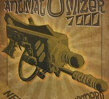 Ray gun #2 - DarkMatter Anitiatomizer by BoydeyMcNerd