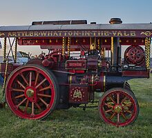 Showmans Traction Engine by Avril Harris