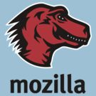 Mozilla Dino - black by hseagle2015