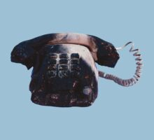 Burnt Telephone by Zorro Gamarnik by RusticShiraz