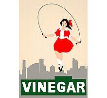 Skipping Girl Vinegar Photographic Print