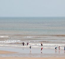 Bridlington Beach by Imager