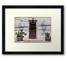 Phoenix Saloon Framed Print