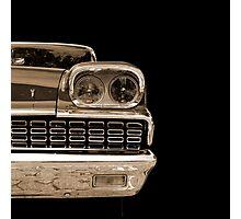 Classic (sepia) Photographic Print