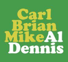 Carl Brian Mike Al Dennis by ihavecake
