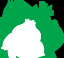 Bulbasaur - Ivysaur - Venasaur Evolution Sticker