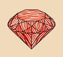 Bacon diamond by emilegraphics