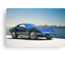 1978 Corvette 'Skyline Vette' Canvas Print