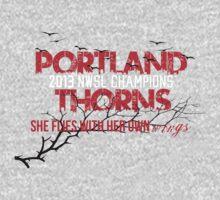 Portland Thorns NWSL Champions by seeaykay
