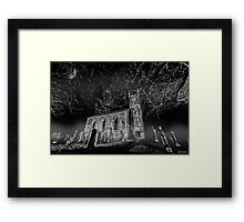 To Reach, but Reach Not... || Fintry Kirk, Fintry Framed Print