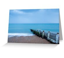 Morning at Kingsdown Greeting Card