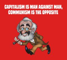 Capitalism and Communism - GrouchoKarl Marx by DanDav