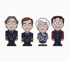 Cabin Pressure mini people (sticker) by redscharlach