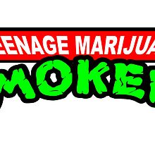 Teenage Marijuana Smokers by mouseman