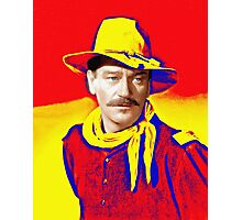John Wayne in Rio Grande Photographic Print