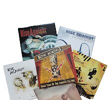 Rise Against Studio Album Vinyls by ultimatejeb