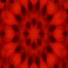 Red Love Kalidescopic by 319media