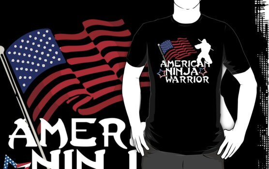 American Ninja Warrior T-Shirt by Dustin Williams