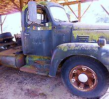 1950s International Truck by EloiseArt