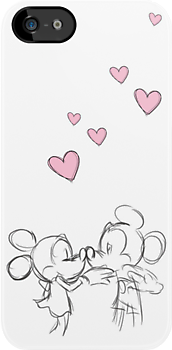 Minnie & Mickey Find Love by ChloeJade