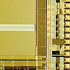 Gold Microchip by TelestaiPix