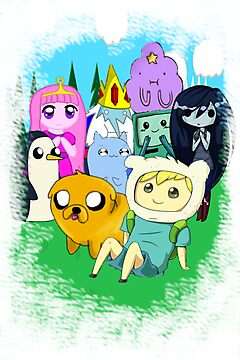 adventure time chibi by Goombasmasher1