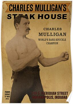 Charles Mulligan's Steakhouse Print by trebory6