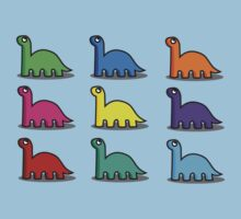 Multicoloured Dinosaurs Kids Clothes