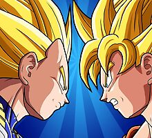 Dragonball Z - Battle Time by StraightEK