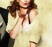 Stana Katic by whatthefawkes