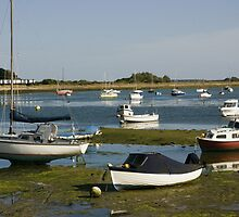 View from Emsworth harbour by lightmonger