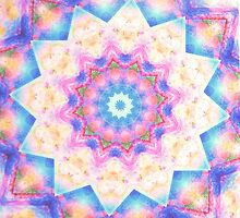 Unconditional love Mandala by Lilaviolet