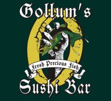 LOTR - Gollums Sushi Bar - Fresh Precious Fish by Immortalized