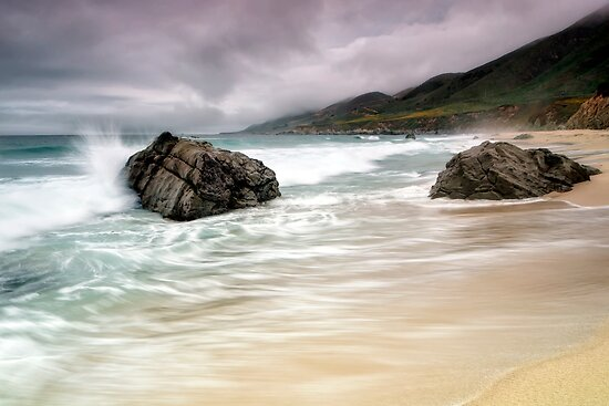 Garrapata Beach, CA by Chris Frost Photography